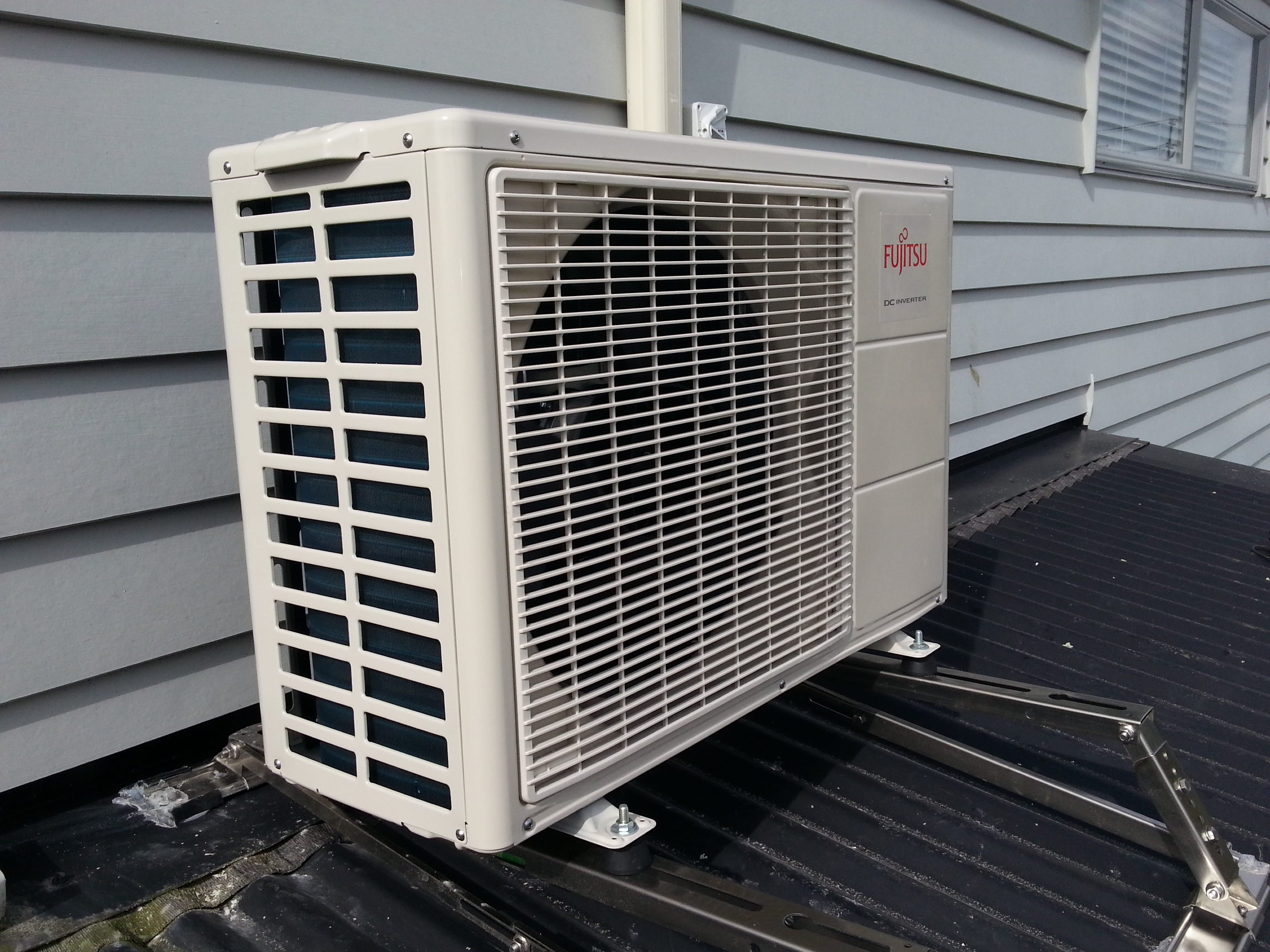 How To Install A Heat Pump Heat Pump Installation Auckland Air Conditioning Installation Acs